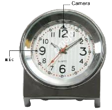 table_clock_camera